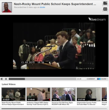 Video/Photos: Speakers Turn Out In Support Of Superintendent